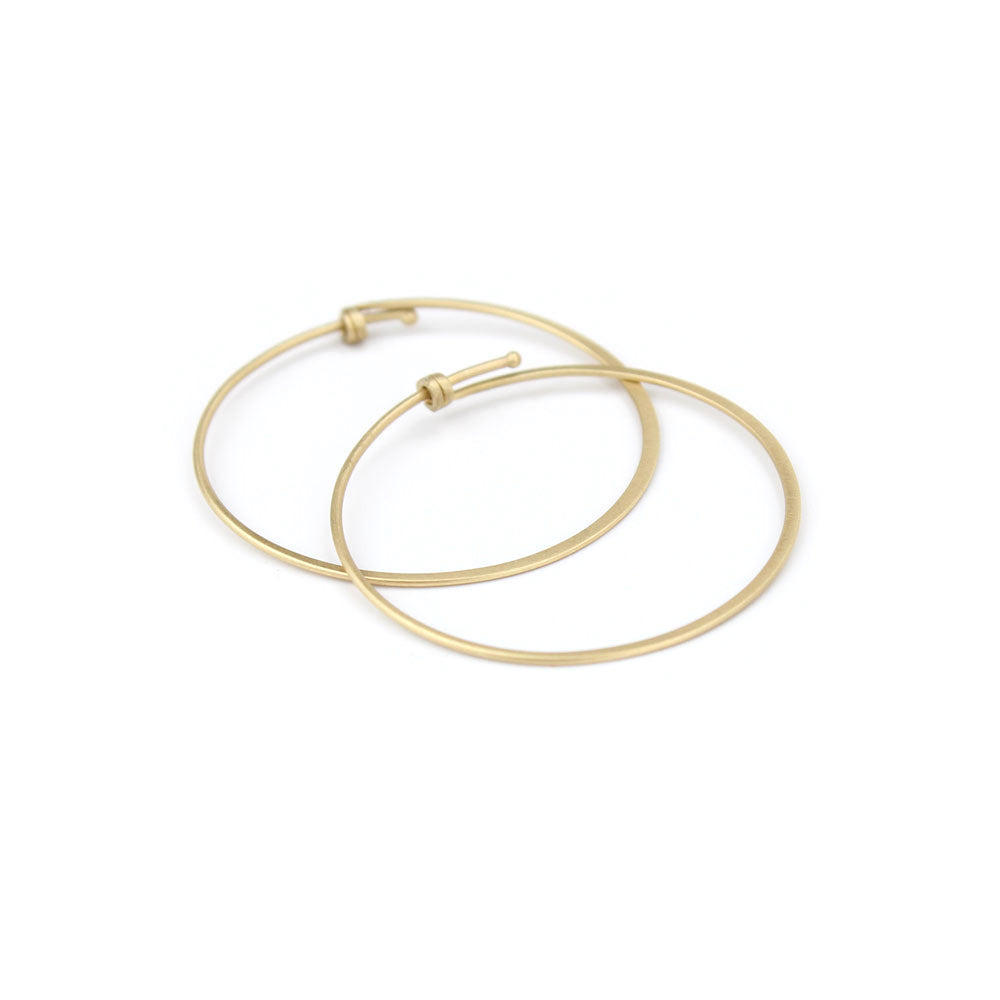 round dainty hoops, carla caruso
