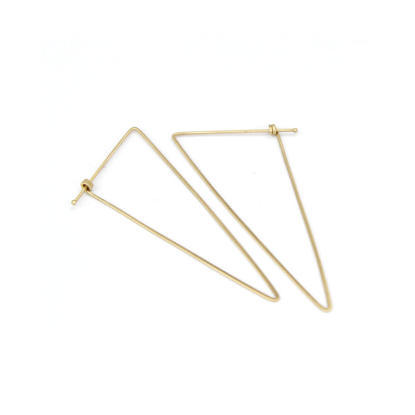 scalene dainty hoops