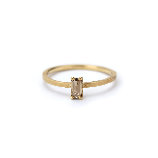champagne diamond stacking ring, jennifer dawes
