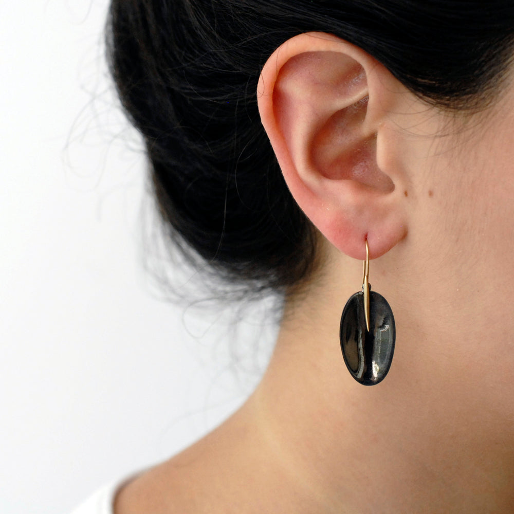 petal and point earrings