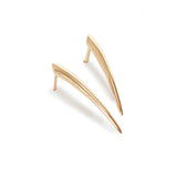 medium / 14k yellow gold ankole studs