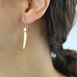 totem drop earrings