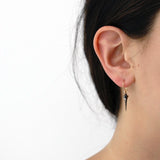 plomb point earrings