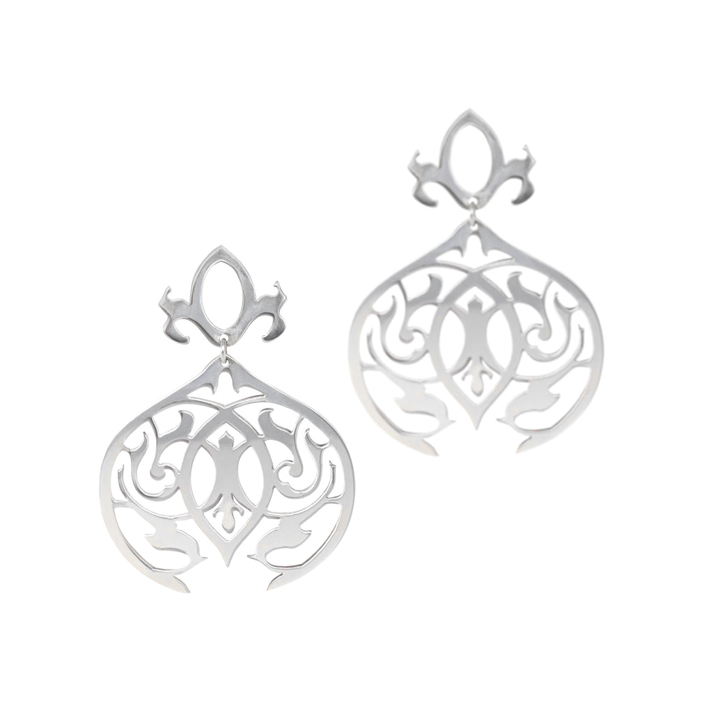 arabesque dangle earrings