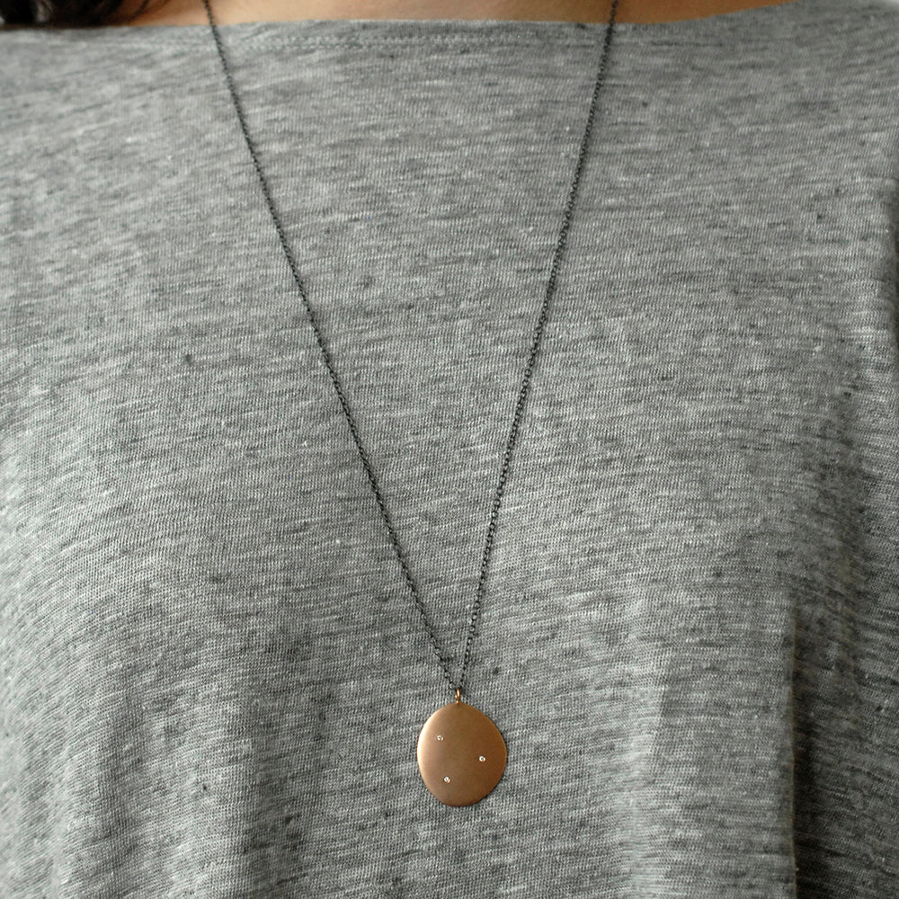 large disc pendant