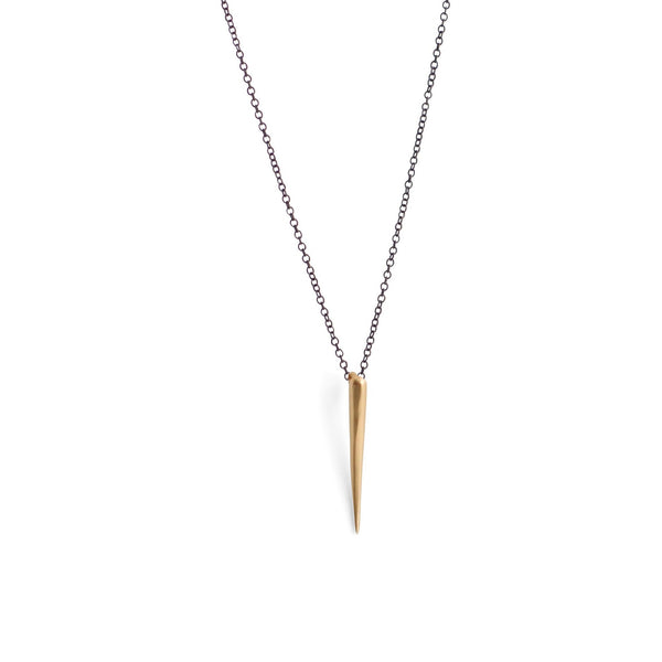 tapered swell necklace