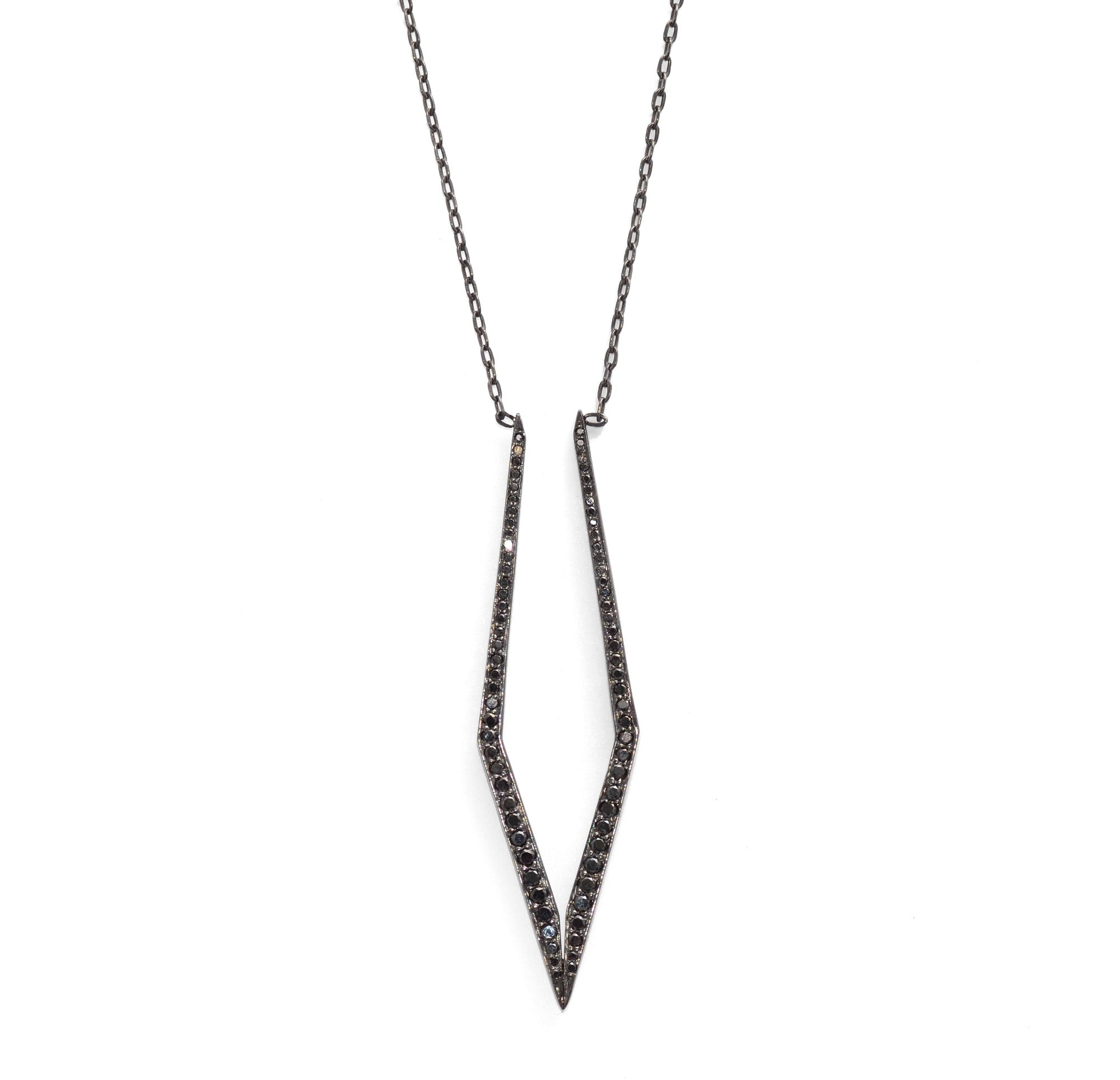 mirror trace necklace