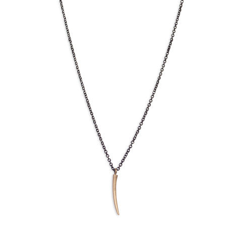 tiny sliver necklace