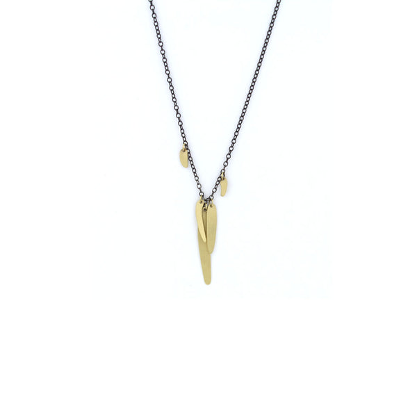 totem link scatter necklace