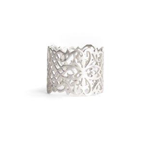 sterling silver / 5 arabesque cigar band