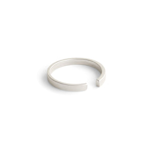 sterling silver tapered stake band