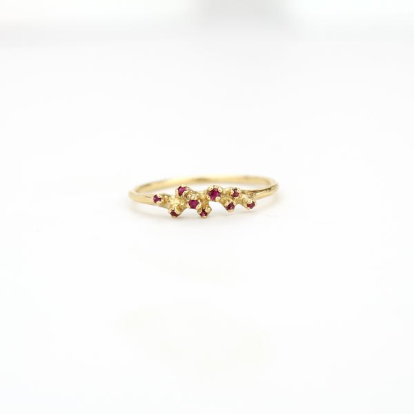 ruby cluster ring, n+a new york