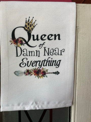 Queen of Everything - Kitchen Towel