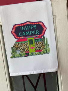Happy Camper- Kitchen Towel