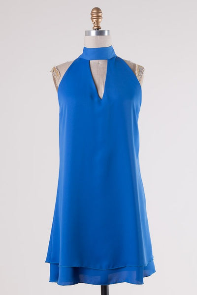 Kenzie Dress - Cobalt Blue