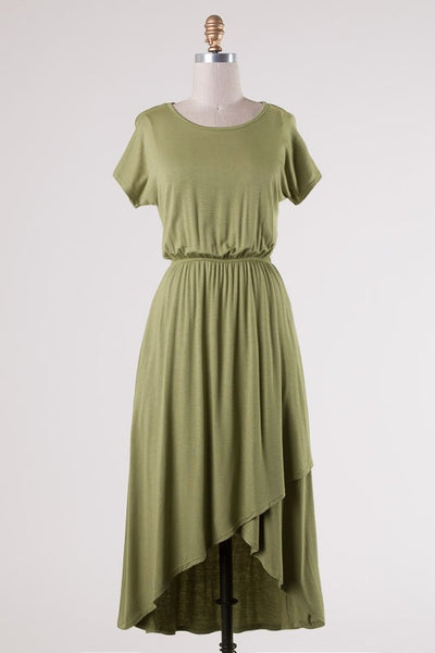 Easy Come Dress - Sage