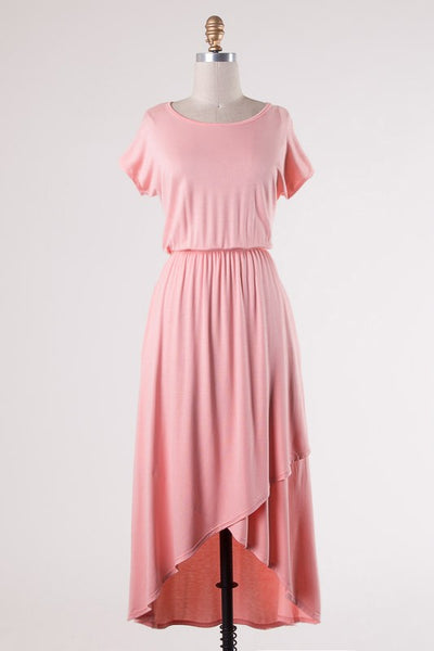 Easy Come Dress - Blush