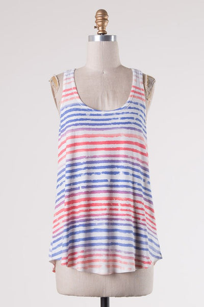 Everyday Tank - Multi Stripe