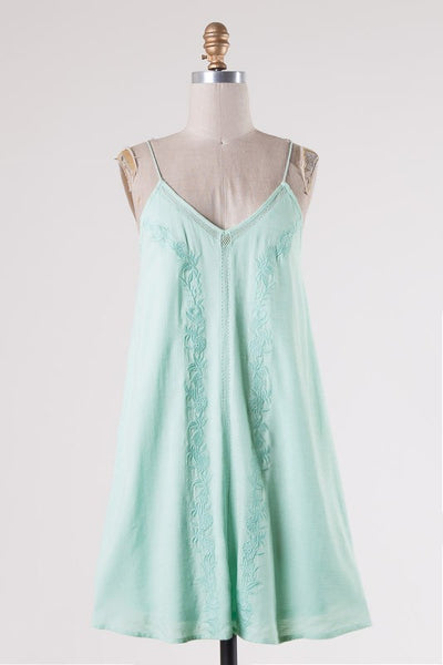 April Dress - Mint