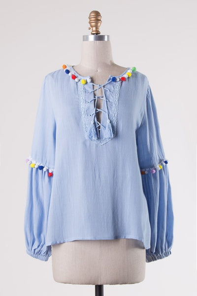 Cabo Top - Blue