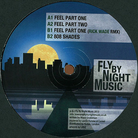 Mayo Soulomon ‎- Night Shades EP / Fly By Night Music ‎- FBNM004