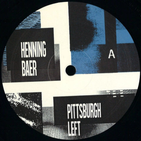 Henning Baer - Pittsburgh Left / Manhigh - MANHIGH002