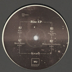 Kwartz  ‎– Rite EP /  Warm Up Recordings ‎– WU43