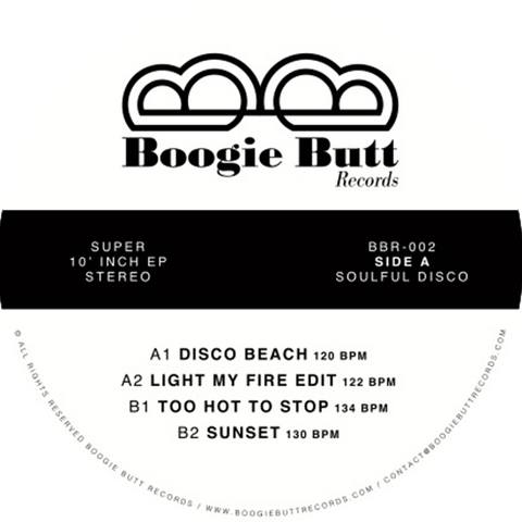 Lordfunk ‎– Disco Beach / Boogie Butt ‎– BBR-002