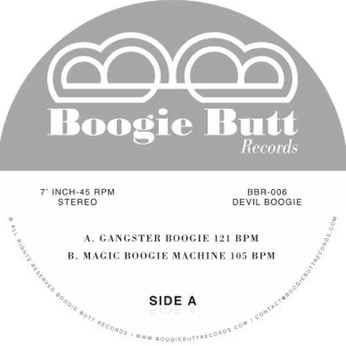 Lordfunk ‎– Gangster Boogie / Boogie Butt ‎– BBR-006