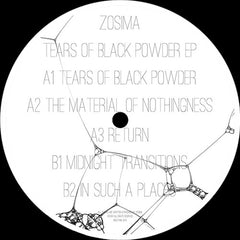 Zosima ‎– Tears Of Black Powder EP / Noiztank ‎– NTK001