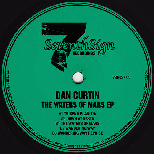 Dan Curtin - The Waters of Mars EP / Seventh Sign Recordings - 7SR027