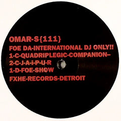 Omar-S ‎- 111 / FXHE Records ‎- AOS-111
