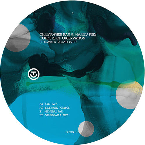 Christopher Rau / Marieu ‎– Sidewalk Romeos EP / Out Electronic Recordings (Out-Er) ‎– OUT-ER 016