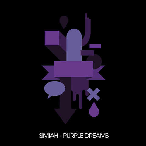 Simiah ‎- Purple Dreams / King Underground - KU-007