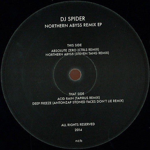 DJ Spider - Northern Abyss Remix EP / Nord Records - NORD 004R