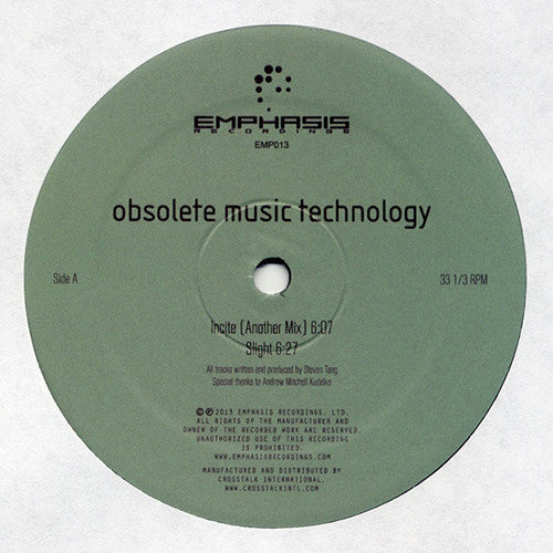 Obsolete Music Technology ‎- Incite / Emphasis Recordings ‎- EMP013