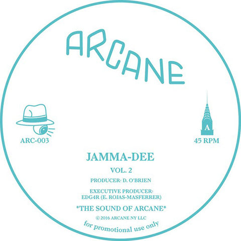 Jamma-Dee ‎- Vol. 2 / Arcane - ARC-003