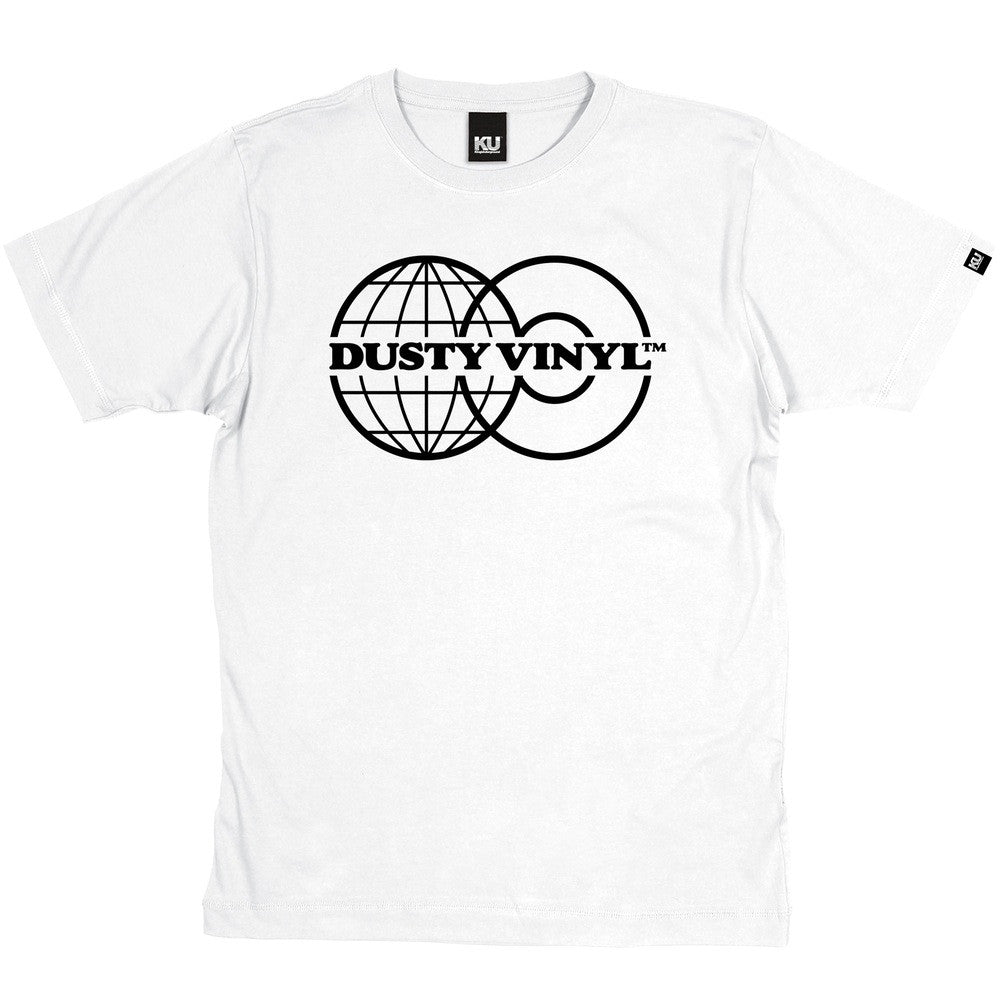 The World Of Dusty Vinyl - Shirt (White)
