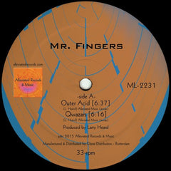 Mr. Fingers - Outer Acid / Alleviated Records - ML-2231