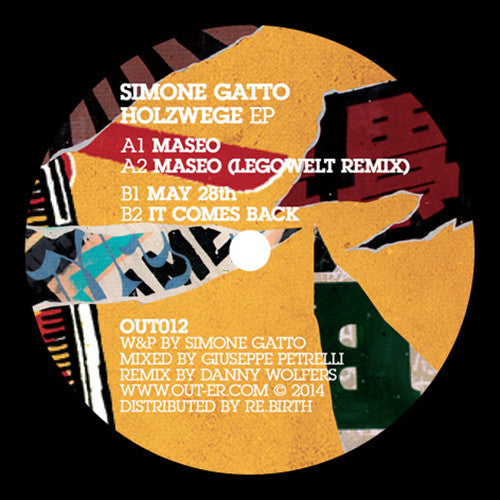Simone Gatto ‎– Holzwege Ep / Out Electronic Recordings (Out-Er) ‎– OUT012
