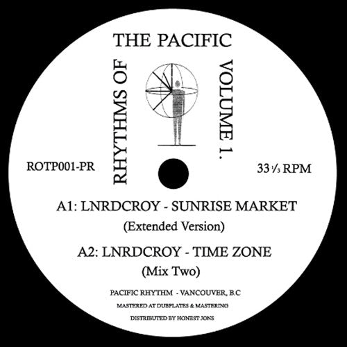 Various ‎- Rhythms Of The Pacific Volume 1. / Pacific Rhythm ‎- ROTP001-PR