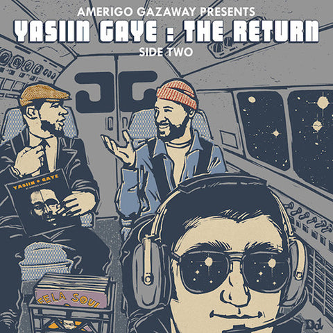 Amerigo Gazaway ‎– Yasiin Gaye: The Return (Side Two) / Not On Label - YASIINGAYE2
