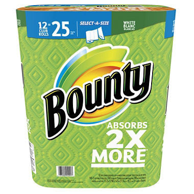 Bounty Paper Towel Select A Size 12/cs