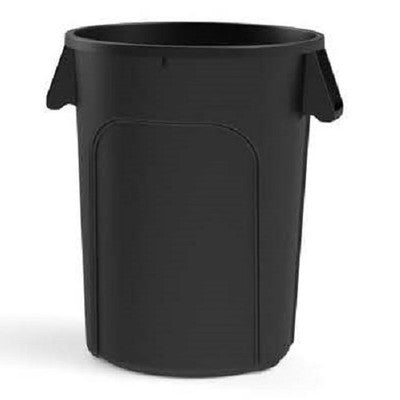 MaxiRough Black 44 Gallon Container w/o Lid