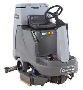 "Advance 2800 ST / 3400 ST (28"" / 34"") Rider Floor Scrubber"