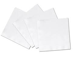Beverage Napkin 1-Ply White 4000/cs
