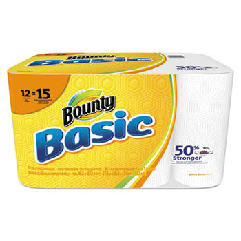 BOUNTY BASICS WHITE 12/CS