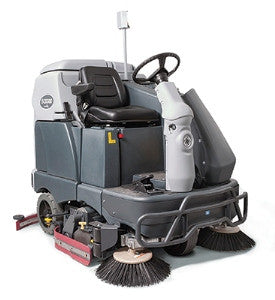 "Advance SC6500 65"" Rider Floor Scrubber / Sweeper"