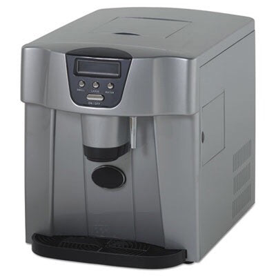 Countertop Icemaker/Water Dispenser, Silver