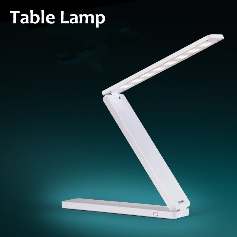 Folding Led Reading Desk Table Lamp, Adjustable